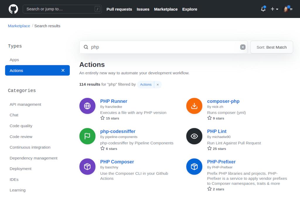 PHP Prefixer Build Action on GitHub Marketplace